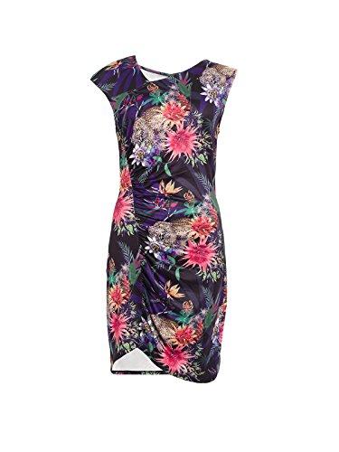 SMASH Damen Kleid, Casual Crispeta Mehrfarbig