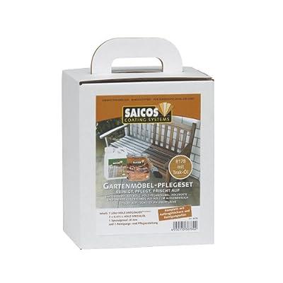 Saicos 8178 STK Gartenmöbelpflegeset Teak von Saicos auf TapetenShop