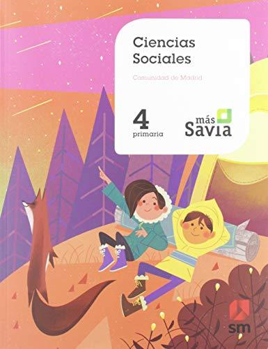 Ciencias sociales 4 Primaria Mas Savia Madrid