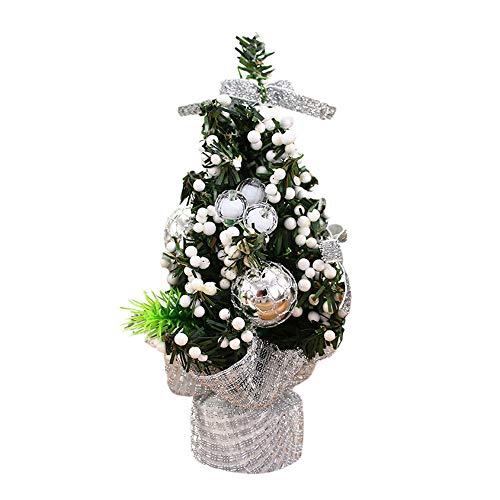 Lot de 12 Dazzling Argent Paillettes étoiles-Arbre De Noël Baubles Décorations