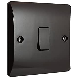 Brown Bakelite Wall Switch 2Way 1Gang 10Amp by Art Deco Emporium