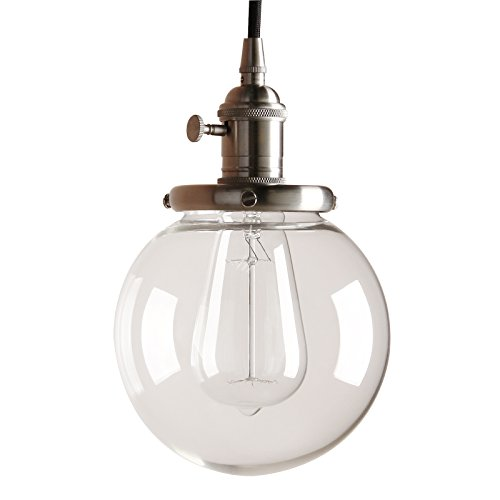 effc4cdb8d59 Pathson 15cm Vintage Modern Pendant Light Fittings Industrial Edison  Ceiling Light Hanging Light Fixture Loft Bar