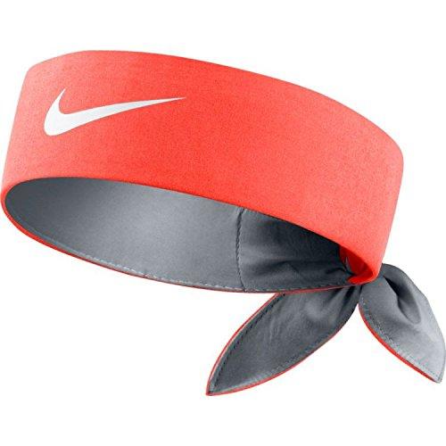 Nike Headband Fascia Testa di Tennis, uomo, UOMO, Headband, naranja (hyper orange / wolf grey / white), Taglia unica