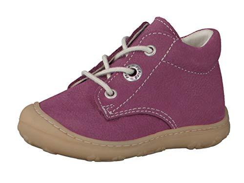 RICOSTA Pepino Mädchen Stiefel Cory, WMS: Mittel, Kinder-Schuhe Klett-Schuhe toben Spielen Freizeit leger Boots Leder Kids,Fuchsia,23 EU / 6 UK