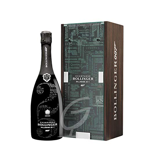 Bollinger 007 Bond Limited Edition 2011 Champagner (1 x 0,75 Ltr) (mit Geschenkverpackung)