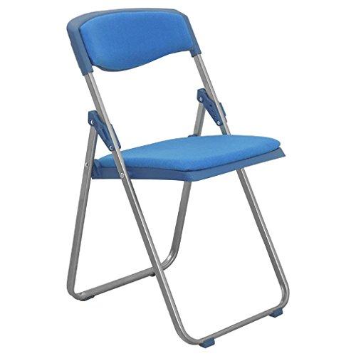 Chair QL Klappstühlen Folding Schwammkissen Rückenlehne Klappstuhl Faltung bequem Computer Stuhl/Konferenzstuhl (Größe: 41,5 * 49 * 79-104cm) Restaurant Klappstühle (Farbe : A)