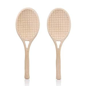 Suck UK de Tennis de couverts à salade, en bois de hêtre