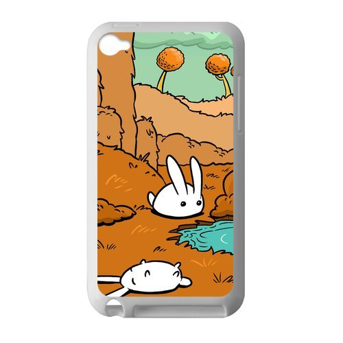 Persoanlized Design Rabbit IPod Touch 4 Case Custom Cover for IPod Touch 4 TPU