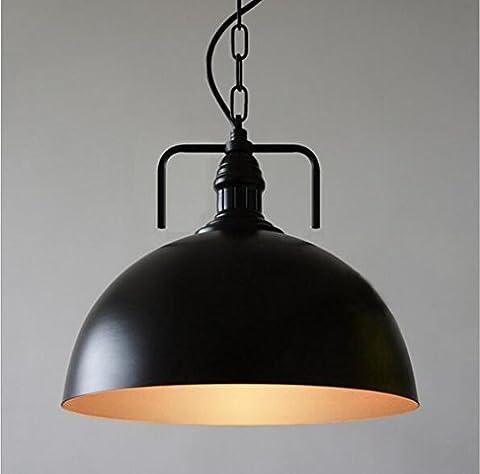 Moderne Retro Industrail LED Pendelleuchte Hängeleuchte E27 Fassung Deckenbeleuchtung Beleuchtung für Wohnzimmer Schlafzimmer (Weiß)