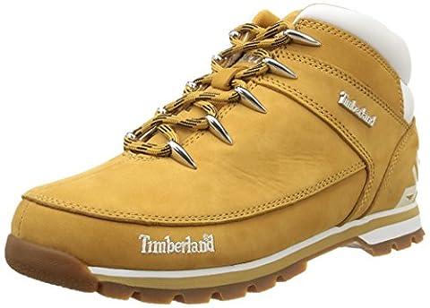 Timberland Euro Sprint_Euro Sprint Hiker, Herren Chukka Boots, Braun (Wheat Nubuck), 44 EU