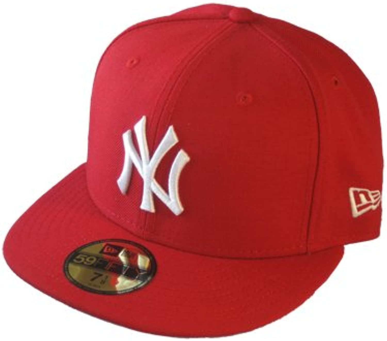 New Era ERA Adulti Berretto da Baseball MLB Bianco Basic NY Yankees 59 Fifty  Bianco MLB Rosso L Parent 8e690d 3d2f88506ca9