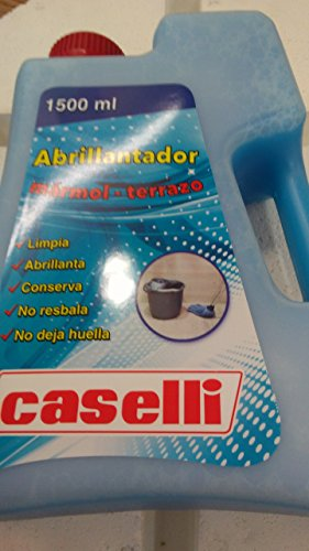 CASELLI MARMOL POLISHER AND CLEAN TERRACE, ABRILLANTA, CONSERVA, DO NOT SLIP AND DO NOT LEAVE TRIMMING
