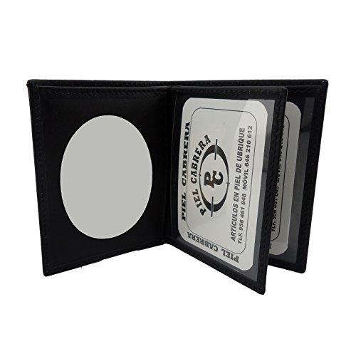 Cartera Porta placa para Guardia Civil tipo Libro con bandera