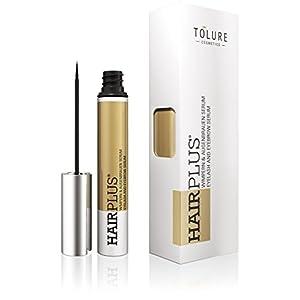 Tolure Cosmetics Hairplus Suero de 2-in-1 para las Pestañas y las Cejas – 3 ml