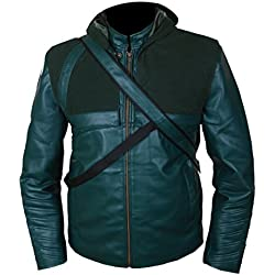 Arrow Jacket with Quiver & Removable Hood XS Green
