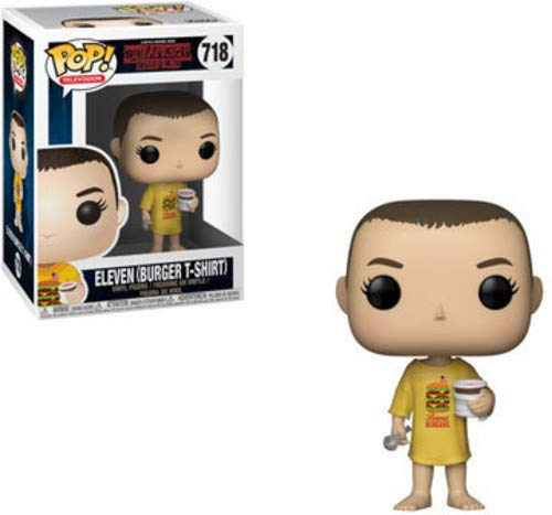 Funko 35057 Pop Vinyl: Stranger Things: Eleven in Burger tee, Multi