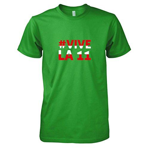 TEXLAB - Österreich Vive La 11 - Herren T-Shirt Grün
