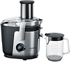 Siemens me400fq1 juice extractor 1000w black silver for Cucinare juicer