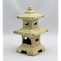 Two Tiered Chinese Lantern House Garden Ornament