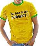 Kontrast/Ringer T-Shirt S-XXL div. Farben
