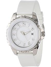 Momentum Damen-Armbanduhr DEEP 6 CERAMIC (NARWHAL) Analog Quarz Kautschuk 1M-DV63W1W