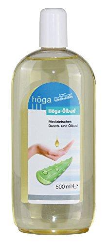 Höga Ölbad, Medizinisches Ölbad - hautfreundlich, Rezeptur dermatologisch getestet.