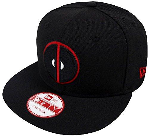 New Era Deadpool Black Marvel Comics Snapback Cap 9fifty Limited Edition