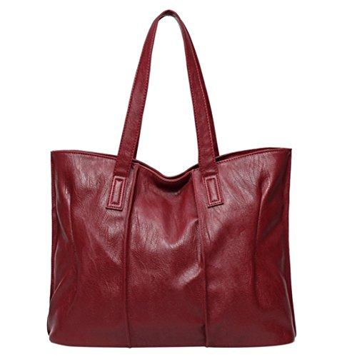 RETUROM , Pochette pour femme L39cm W13cm H30cm rouge