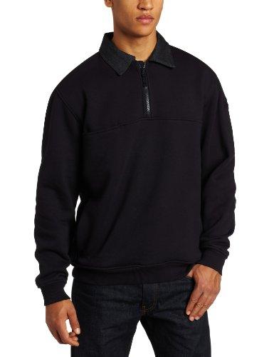 5.11Tactical # 72301Job Shirt mit Denim Details (Fire Navy), damen Herren, Fire Navy, M (Fade Denim Bekleidung)