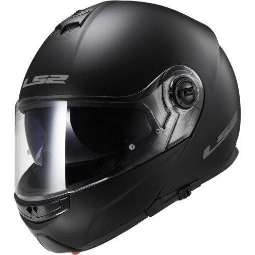 LS2 FF325 Modular Negro Brillo M