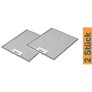 DREHFLEX - AK109-2 - 2x Metallfettfilter für Dunstabzugshaube 305x267mm AEG Electrolux 405525042-9 4055250429 Elica GRI0009219A KIT0010805 93952919 Whirlpool Bauknecht 480122102168 C00314158 ARI314158