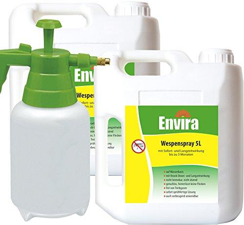 ENVIRA Wespentod 2x5Ltr + 2Ltr Drucksprüher