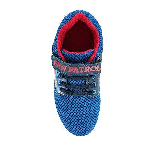 Socks Uwear  Paw Patrol,  Jungen Durchgängies Plateau Sandalen mit Keilabsatz Blau