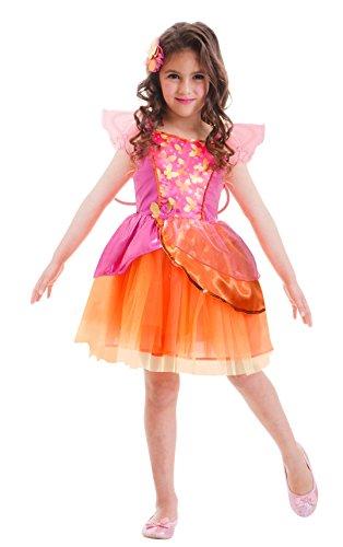 Kostüme Barbie Erwachsenen (Amscan 997562 - Kinderkostüm Barbie Fee Nori, circa 8 - 10 Jahre, Gröߟe 132, pink /)