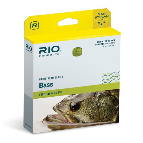 RIO MainStream Bass Pike Panfish Fishing Fly Line Yellow Weight Forward Floating by Rio Brands