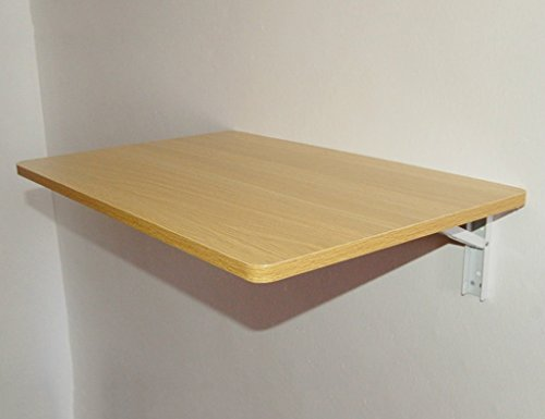 SUBBYE Faltbarer Speisetisch Wand-hängende Tabelle 60 * 40cm Computer-Schreibtisch Lern-Tabellen-Schreiben-Schreibtisch-Art Wahlweise Freigestellt ( Farbe : #3 )