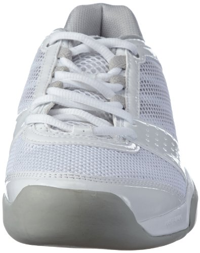 adidas Performance  barricade team 3 W CPT,  Scarpe da tennis donna Bianco (Weiß (RUNNING WHITE FTW / METALLIC SILVER / ICE GREY))