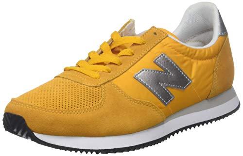 sale retailer e516e 5f6e2 New Balance Men s 220 Trainers, Yellow (Gold Rush Silver FA), 9.5