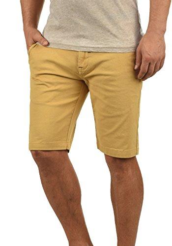 Redefined Rebel Malakai Herren Chino Shorts Bermuda Kurze Hose Aus Stretch-Material Regular Fit, Größe:M, Farbe:Mustard