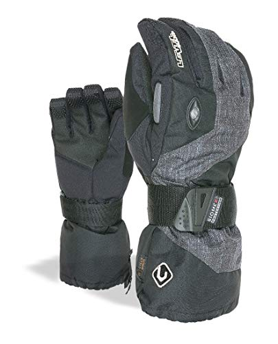 Level Erwachsene Handschuhe Clicker II, schwarz, 9.5, 8051770398813