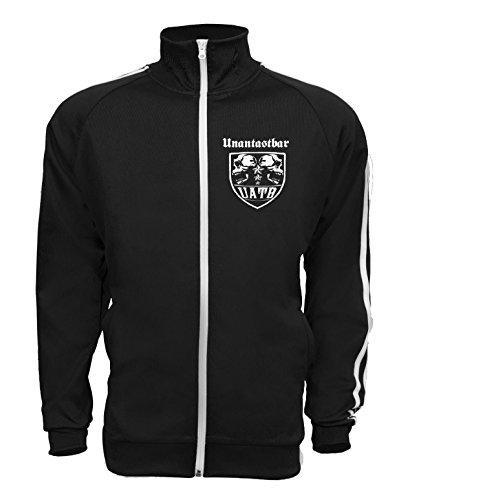 Unantastbar - Trainingsjacke Men, Farbe: schwarz, Größe - Hard-rock-jacke
