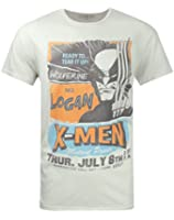 Junk Food X-Men Wolverine Tear It Up Men's T-Shirt