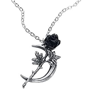 Alchemy Gothic New Romance Necklace Silver-Coloured