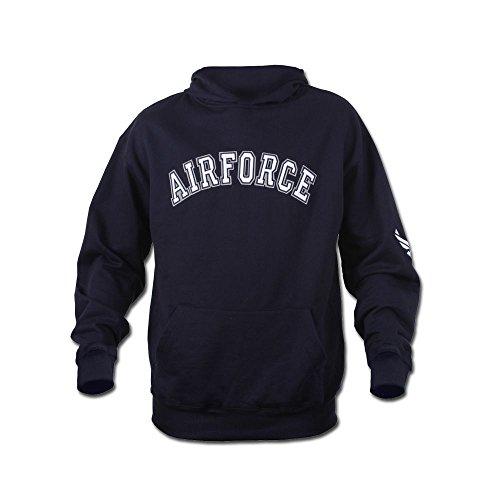 Hoodie Rothco Airforce navy blau Größe S (Force Rothco Air)