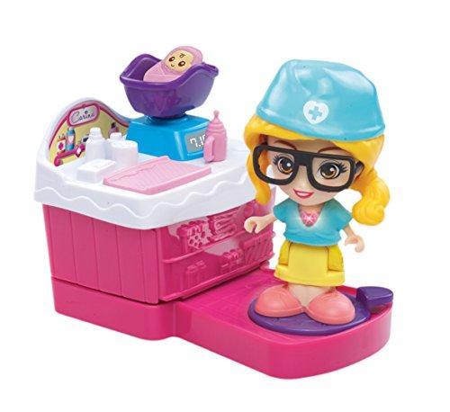 Flipsies Clementine mit Küche und Puppe Kinderwagen Eis (Vtech 3480-159522) Carina-Set - Küche Puppe
