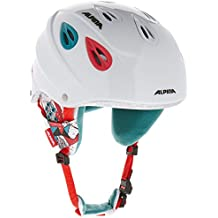 ALPINA Skihelm Grap Junior - Casco de esquí, color blanco, talla 51-54