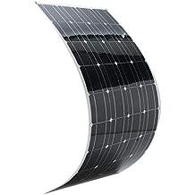 WEIWEITOE-ES Elfeland 120W 12V A-Class Semi Flexible Solar Panel Battery Charger For