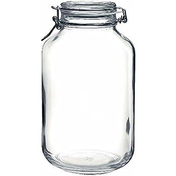 Bormioli Rocco Drahtbügelglas Fido 5000 ml rund Einmachglas ...
