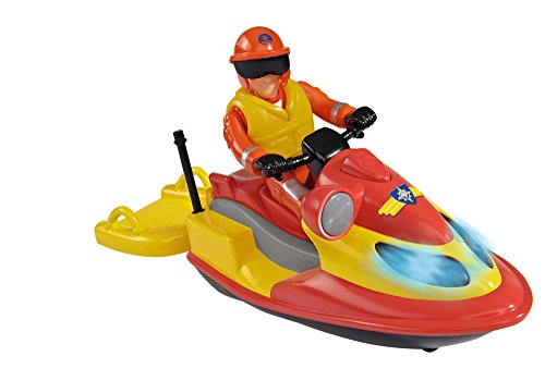 feuerwehrmann sam elvis figur Simba 109251662 - Feuerwehrmann Sam Juno Jet Ski mit Figur