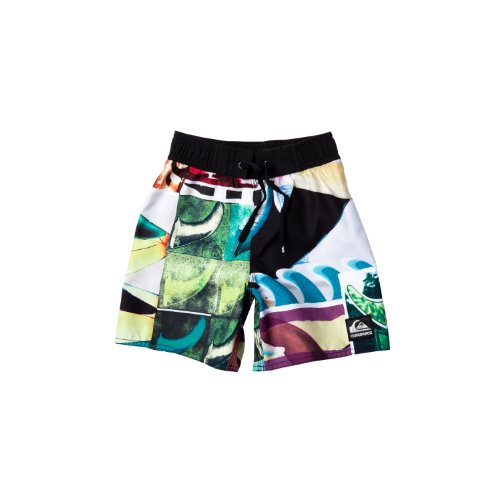 Quiksilver-jungen-shorts Herren (Quiksilver Jungen Shorts Jam Fins Out, white, 104 (T04), KMKJA034-)